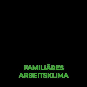5. Familiäres Arbeitsklima